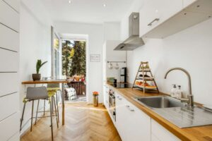 кухня 3-х комнатная квартира мюнхен