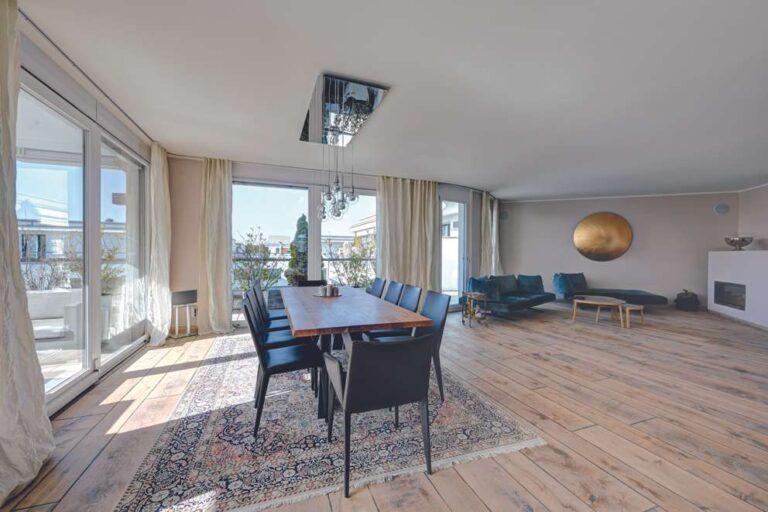 зал 4-х комнатная квартира мюнхен